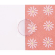 Cabochon Transparent, 12mm
