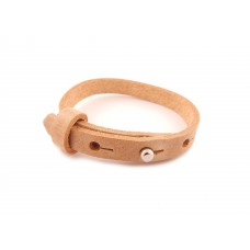 Cuoio Armband, 8mm, cognac
