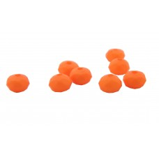Acrylperle 6x4mm, orange